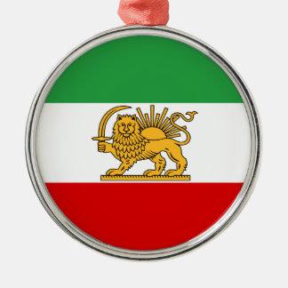 Ornamento De Metal Bandeira de Persia/Irã (1964-1980)