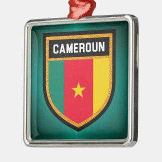 Ornamento De Metal Bandeira de República dos Camarões