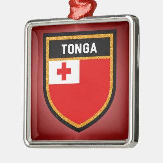 Ornamento De Metal Bandeira de Tonga