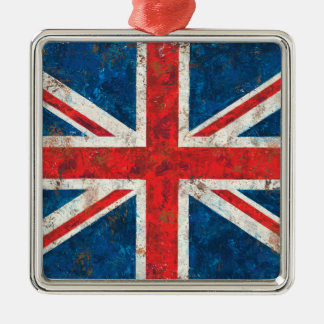 Ornamento De Metal Bandeira de Union Jack