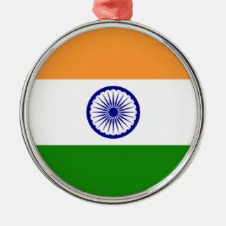 """Ornamento De Metal Bandeira indiana """"Tiranga """" da boa cor"""
