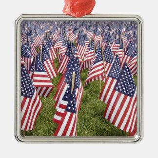 Ornamento De Metal Bandeiras do Memorial Day
