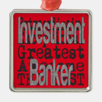 Ornamento De Metal Banqueiro de investimento Extraordinaire