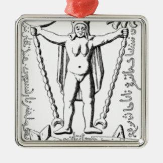 Ornamento De Metal Baphomet adiantado