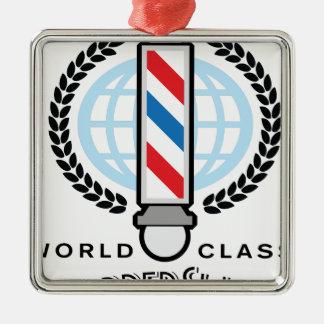 Ornamento De Metal Barbearia da classe do mundo