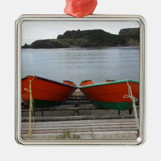 Ornamento De Metal Barcos bonito de Terra Nova