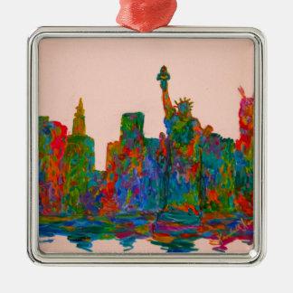 Ornamento De Metal Beleza de Manhattan