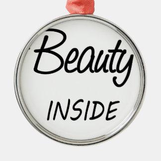 Ornamento De Metal beleza para dentro