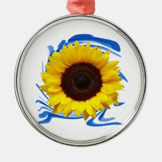 Ornamento De Metal benevolência das Sun-luzes
