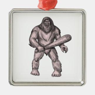 Ornamento De Metal Bigfoot que guardara o tatuagem ereto do clube