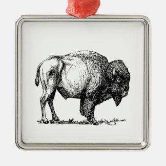 Ornamento De Metal Bisonte americano do búfalo