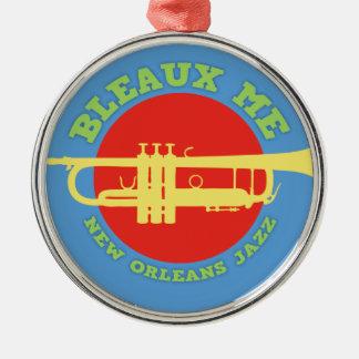 Ornamento De Metal Bleaux mim - jazz de Nova Orleães
