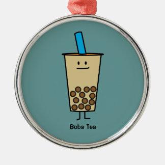 Ornamento De Metal Bolas do Tapioca do chá do leite da pérola de Boba