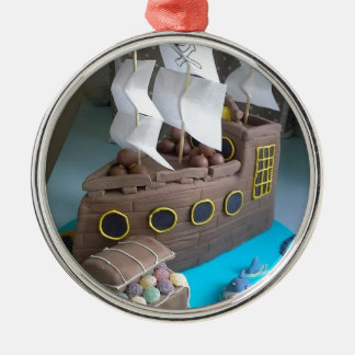 Ornamento De Metal Bolo 1 do navio