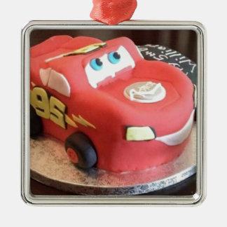 Ornamento De Metal Bolo do carro de McQueen