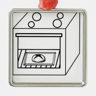 Ornamento De Metal bolo no forno, bebê engraçado na mamã grávida da