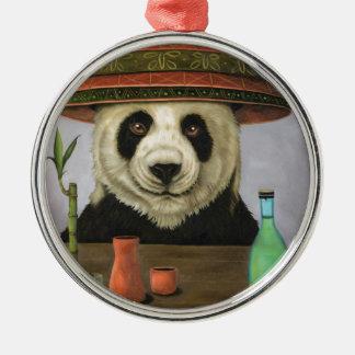 Ornamento De Metal Boozer 4 com panda