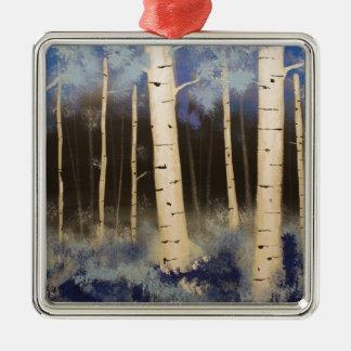 Ornamento De Metal Bosque de Aspen