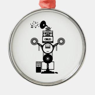 Ornamento De Metal Bot da música