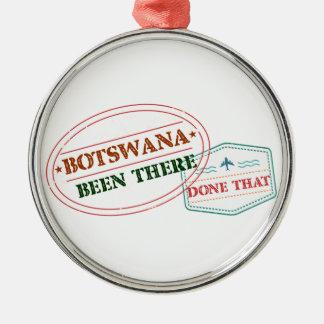Ornamento De Metal Botswana feito lá isso