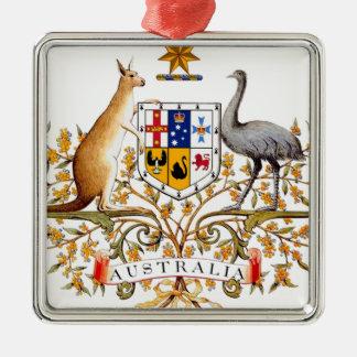 Ornamento De Metal Brasão de Austrália