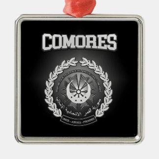 Ornamento De Metal Brasão de Comores
