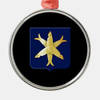 Ornamento De Metal Brasão de Zandvoort