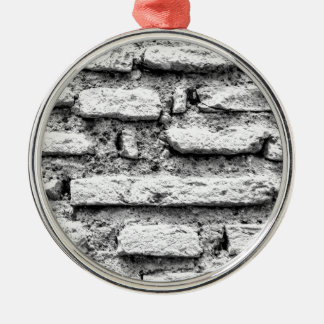 Ornamento De Metal Brickwall rústico
