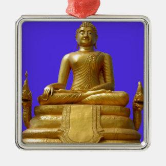Ornamento De Metal Buddha