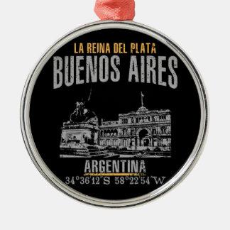 Ornamento De Metal Buenos Aires