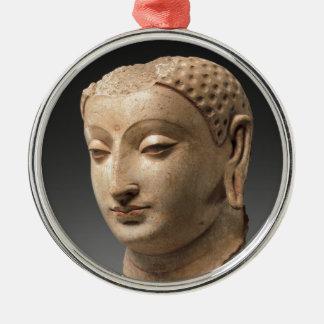 Ornamento De Metal Cabeça de Buddha - 5o-6o século