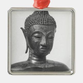 Ornamento De Metal Cabeça de Buddha - século XV - Tailândia