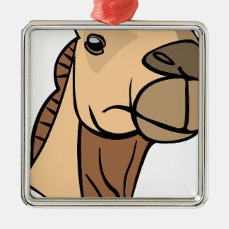 Ornamento De Metal Cabeça do camelo