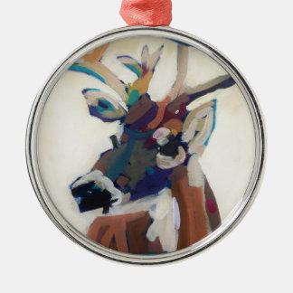 Ornamento De Metal Cabeça dos cervos