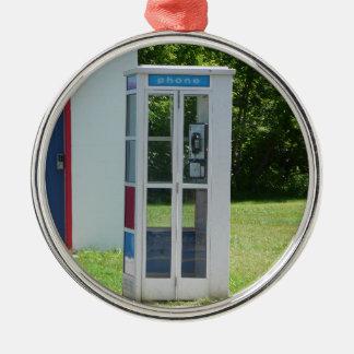 Ornamento De Metal Cabine de telefone