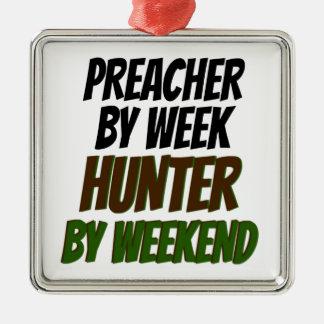 Ornamento De Metal Caçador do pregador