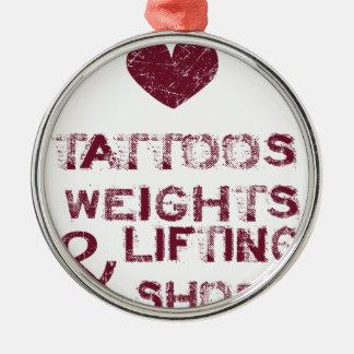 Ornamento De Metal calçados dos pesos dos tatuagens fêmeas