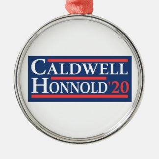 Ornamento De Metal Caldwell Honnold 2020