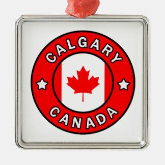 Ornamento De Metal Calgary Canadá
