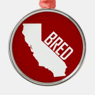 Ornamento De Metal Califórnia produziu