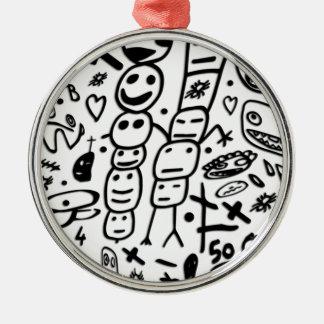 Ornamento De Metal Camarão de Zef