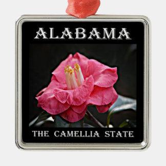 Ornamento De Metal Camélia de Alabama