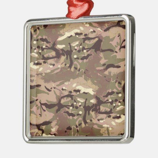 Ornamento De Metal Camo Camo, mil da arte do Wherefore? Projeto de
