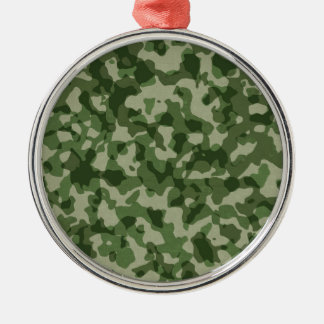 Ornamento De Metal Camuflagem militar do verde da selva