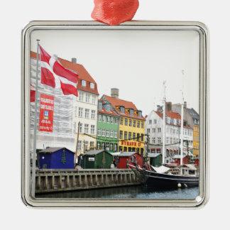 Ornamento De Metal Canal de Nyhavn em Copenhaga, Danmark