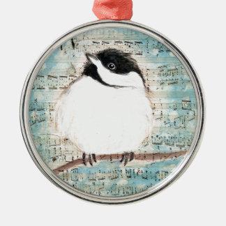 Ornamento De Metal Canção da música do passarinho