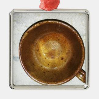 Ornamento De Metal Caneca de Caffee