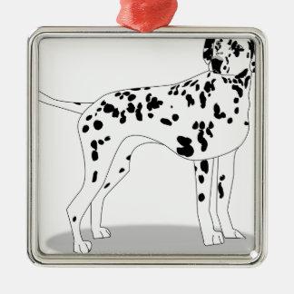 Ornamento De Metal Cão de Dalmation