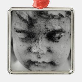 Ornamento De Metal Cara de um querubim