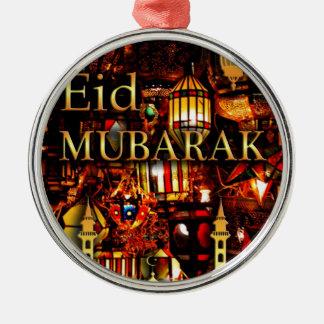 Ornamento De Metal cartão 3 de ramadan